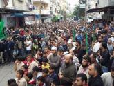 مسيرات بغزة والضفة نصرة للأقصى