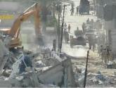 فيديو يصور لحظات تفجير منازل رفح المصرية