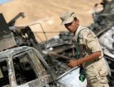 مقتل وإصابة عشرات الجنود المصريين في هجمات بسيناء