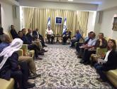 """مسيرة الاعتراف بقرى النقب تحط رحالها في منزل رئيس """"اسرائيل"""""""