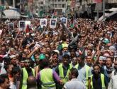 مهرجان حاشد في الأردن احتفالا بانتصار غزة