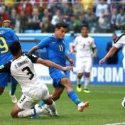 البرازيل تهزم كوستاريكا في الدقائق الاخيرة