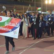 فلسطين تحصد فضيتين وبرونزية في بطولة عمان الدولية لألعاب القوى