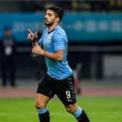 سواريز يحرز هدفه الخمسين مع أوروغواي