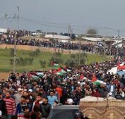 """غزة تتجهز لـ""""جمعة الوفاء للجرحى"""""""