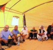 دعوات لإقامة صلاة الجمعة بمنطقة المنطار في بادية القدس