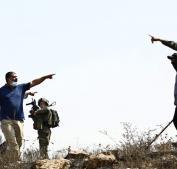 أهالي قرية مادما يتصدون لهجوم مستوطنين