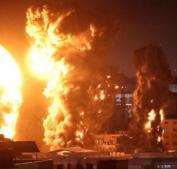 طائرات الاحتلال تشنّ نحو 50 غارة على مناطق متفرقة من قطاع غزة