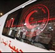 الاحتلال يعتدي على طواقم الاسعاف على مفترق عين سينيا