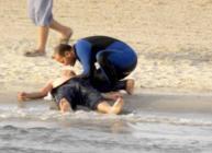 وفاة طفل غرقا وإصابة آخر في بحر غزة