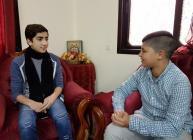 """خاص لـ""""وطن"""": بالفيديو.. طولكرم: طفلان أصمان يطمحان بدخول عالم التمثيل"""