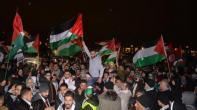 مظاهرة حاشدة تضامنا مع القدس أمام المستشارية الألمانية