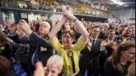 """الاستقلاليون يعلنون انهم حققوا فوزا """"تاريخيا"""" في الانتخابات في اسكتلندا"""