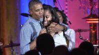 أوباما: سأفتخر بانضمام ابنتي الى الجيش الأميركي