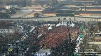 مئات آلاف الكوريين الجنوبيين يتظاهرون للأسبوع السادس على التوالي