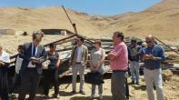 """مدراء التعاون في الاتحاد الأوروبي يزورون المشاريع في منطقة """"ج"""" في غور الأردن"""