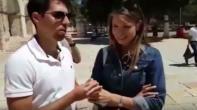 فيديو.. مستوطنان يعلنان زواجهما في باحات المسجد الأقصى