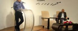 """محمد إلياس نزال يطلق كتاب """"تسريب الأراضي"""" في متحف درويش"""