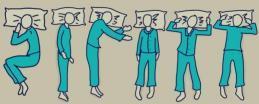 """6 أشكال تكشف شخصيتك من وضعية نومك: إذا كنت تنام بـ""""وضع الجنين"""" فأنت خجول"""