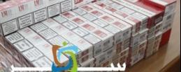 الجمارك تضبط تجارا حاولوا تهريب 550 كروز سجائر وأدوية على معبر الكرامة