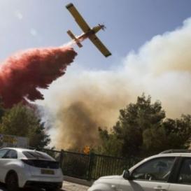 الناصرة: نقل سيدتين وطفلين للمستشفى واخلاء منازل اثر حريق
