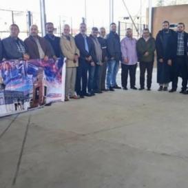مسيرة تضامنية مع الأسرى في مخيم عين الحلوة