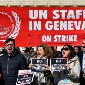 للمرة الثانية خلال أسبوع.. موظفو الأمم المتحدة يضربون في جنيف