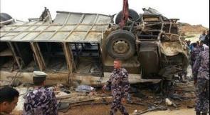 الرئيس يعلن الحداد غد على ضحايا حادث الأردن