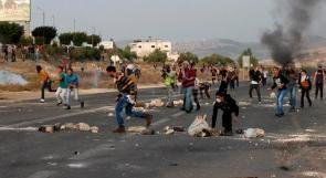 إصابة مواطن برصاص الاحتلال جنوب نابلس