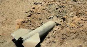 اطلاق قذائف من غزة نحو المستوطنات