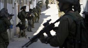 الاحتلال يعتقل 5 مواطنين بالضفة