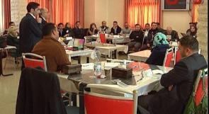 بالفيديو .. انجاز فلسطين تعقد ورشة تدريبية لمتطوعيها بالخليل