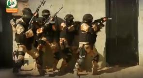 كتائب القسام تشتبك مع قوة خاصة تتحصن في احد المنازل شمال بيت لاهيا