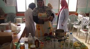 """خاص لـ """"وطن"""": بالفيديو..طولكرم: كريمات طبيعية بأيادي فلسطينية في """"تنمية المرأة الريفية"""""""