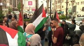 اسناداً للأسرى الإداريين.. متضامنون في رام الله: سنصعد الفعاليات الاحتجاجية