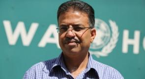 أبو حسنة ينفي تصريحات منسوبة لمدير عمليات الانروا في غزة