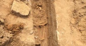 فيديو   خلال حفريات لسلطات الاحتلال الكشف عن مقبرة إسلامية في يافا