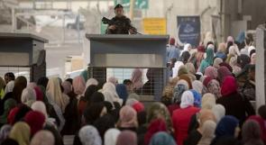 ازدحامات على حواجز الاحتلال في القدس في الجمعة الثانية من رمضان