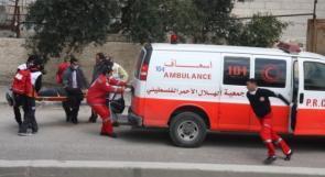 اصابة عامليّن بانهيار سقف مبنى قيد الانشاء في مخيم الدهيشة