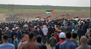الشعبية للاحتلال: فشلتم في إنهاء مسيرات العودة