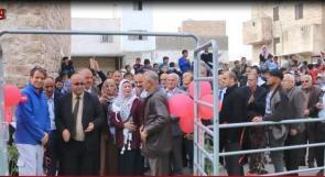 الاحتفال بافتتاح حديقة براعم الامل في البلدة القديمة بالخليل
