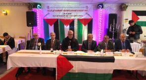 """إنطلاق أعمال المؤتمر الرابع """"لإتحاد الجاليات والمؤسسات والفعاليات الفلسطينية في أوروبا"""""""