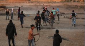 شبان يتمكنون من قص السياج العنصري شرق خانيونس