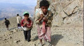 الأمم المتحدة: 7 ملايين طفل يمني يدخلون فراشهم جوعى ليليا