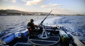 اعتقال 4 صيادين في بحر غزة