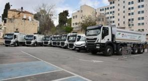 بلدية رام الله تحدث آلياتها بتمويل ذاتي