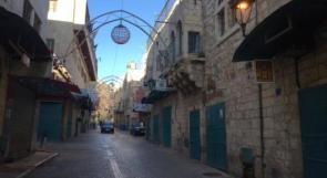اعلان الاضراب الشامل ليوم غد في محافظة بيت لحم