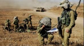 مناورة لجيش الاحتلال قرب غزة
