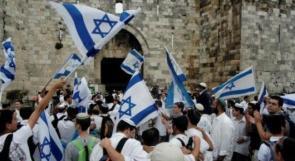 السماح للمستوطنين بمسيرة رقص بالأعلام في القدس خلال رمضان