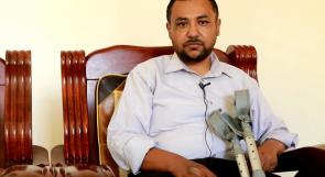 الأسير المحرر بلال استيتي يناشد عبر وطن لتأمين علاجه